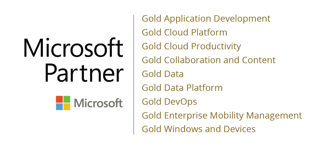 Microsoft Partner certifications